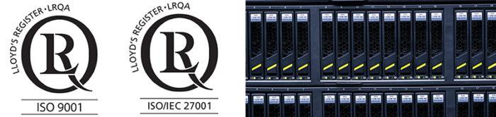 ISO 9001 y ISO 27001